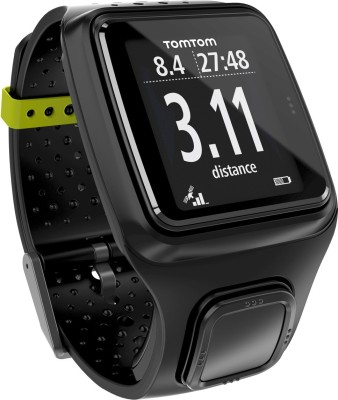 TomTom 1RR0.001.06 Runner Digital Watch Smartwatch (Black Strap)
