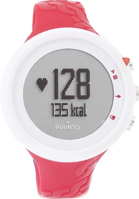 Suunto M2 Fuchsia Digital Smartwatch (Pink Strap)