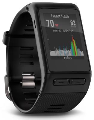 Garmin Vivoactive HR Smartwatch (Black Strap)