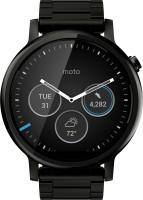 Motorola Moto 360 2nd Gen (46 mm) for Men Black Metal Smartwatch