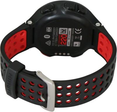 Garmin Forerunner 220 GPS Smartwatch (Black, Red Strap)