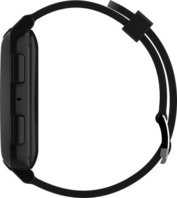 Intex IRIST PRO Black Smartwatch (Black Strap)