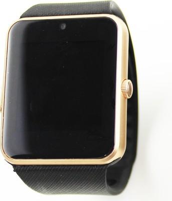 IGS IGS - GT08 (Golden) Golden Smartwatch (Black Strap)
