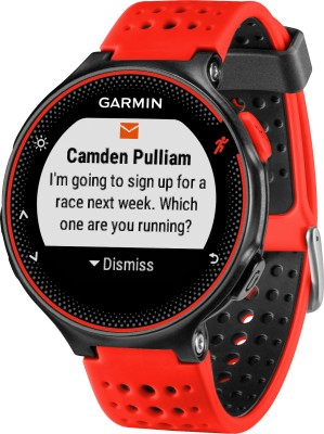 Garmin Forerunner 235 Red Smartwatch (Red Strap)
