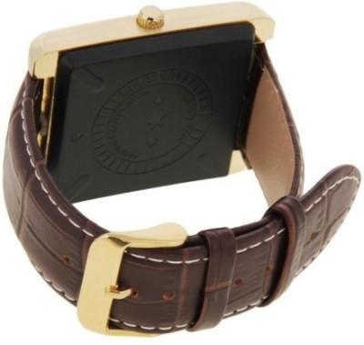 Sicario Moda W3 Brown Smart Watch Smartwatch (Brown Strap)