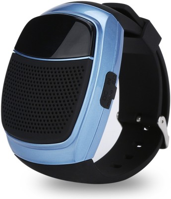 LIFE LIKE B90 BLUETOOTH WITH SD CARD SUPPORT BLUE Smartwatch (Black Strap)