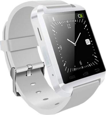 ZOON U8 White Smartwatch (White Strap)