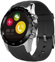 Bingo T-20 Plus Silver Heart-Rate Monitor Waterproof Bluetooth Smart Watch Smartwatch (Black)
