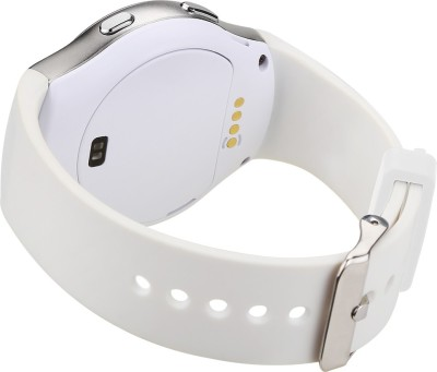 General Aux G3 BT4.0, Heart Rate Monitor, Pedometer, Anti Lost, GSM SIM Slot, iOS + Android App Smartwatch (White Strap)