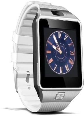 Zigmo DZ09 White Smartwatch (White Strap)