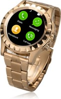 Bingo C1 Gold With Removable Strap Supports Bluetooth, Android & IOS System Smartwatch (Gold)