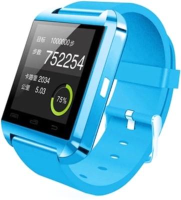 Bbroz U8 Blue Smartwatch (Blue Strap NA)
