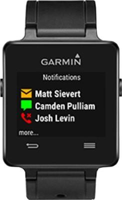 Garmin Vivoactive Smartwatch (Black Strap)