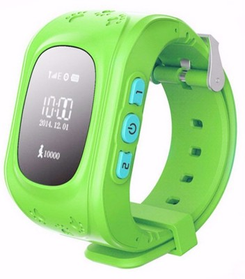 FindU FK04S Smartwatch (Green Strap)