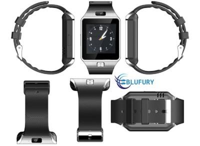 Blufury BLFDZ0916SB -Silver/Black Silver-Black Smartwatch (Black Strap)