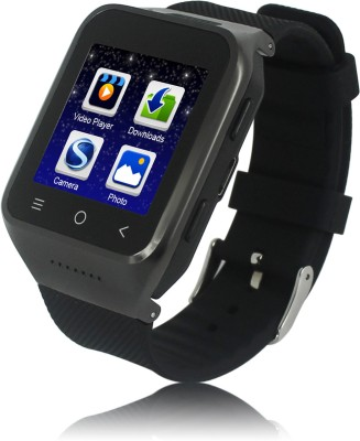 Kingshen Android Watch Phone S8 Smartwatch (Black Strap)