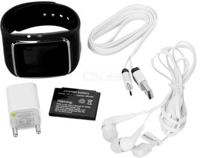 Jas Hi Watch Smartwatch (Black Strap)
