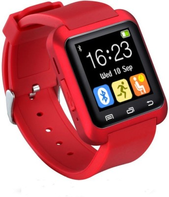 Mezire U8 BLUETOOTH RED Smartwatch (Red Strap)