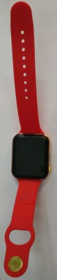 General AUX Touch Screen, SIM Card Slot Smartwatch (Red Strap)