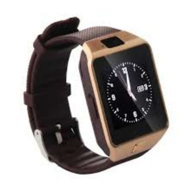 Merchant eshop DZ09 Smartwatch (Brown Strap)