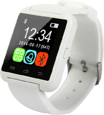 Speed U8 Bluetooth Smartwatch (White Strap)