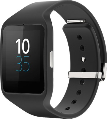 Sony SWR50 Black Smartwatch (Black Strap)