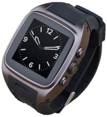 Auxus Rist Smartwatch (Black Strap)