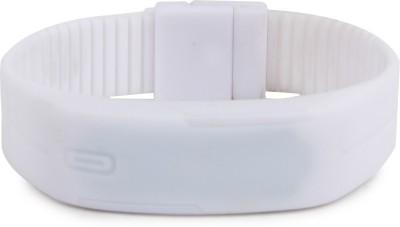INURE led Smartwatch Smartwatch (White Strap)