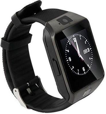 Celestech WS04 with SIM, 32 GB Memory Card Slot, Bluetooth and Fitness Tracker Gunmetal Grey Smartwatch (Black Strap)