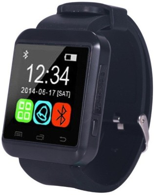 Zakk U8 S With Sim Card Support Smartwatch (Black Strap S-L)