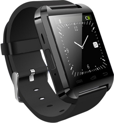 Tech Station BW001 Smart Band Smartwatch (Black Strap)