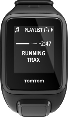 TomTom Spark Music Black Smartwatch ((Black, Large))