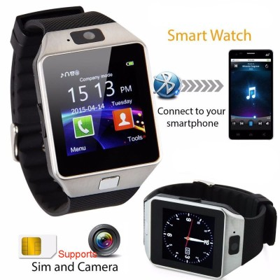PH Artistic SW1 with SIM and 32 GB Memory Card Slot and Fitness Tracker Black Smartwatch (Black Strap)