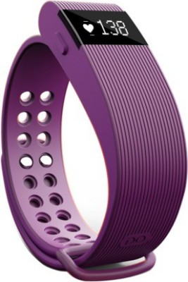 Opta Bluetooth fitness tracker and heart rate sensor for Android/IOS Mobile Smartwatch (Purple Strap)