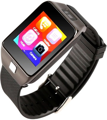 Attire Heart Rate Smartwatch (Black Strap L)
