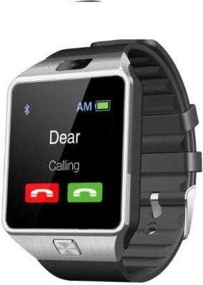 sicario moda V9 Smartwatch (Black Strap)