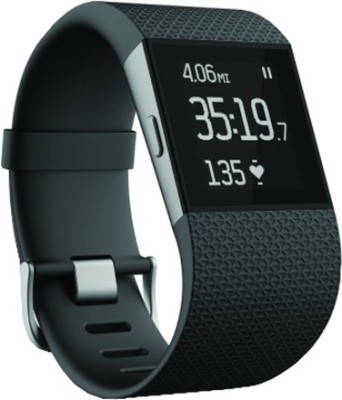 Fitbit Surge Fitness Superwatch Black Smartwatch (Black Strap S)