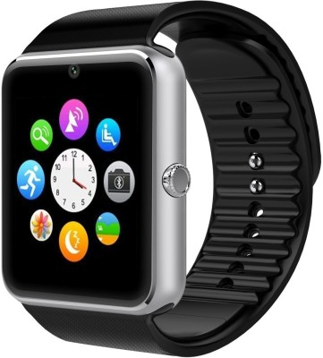 Oumax Bluetooth S6 Smartwatch (Black Strap)