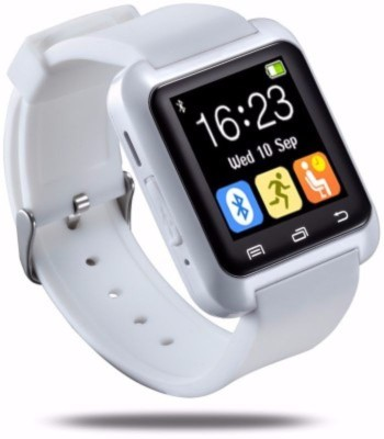MOUSETRAP MTSWW Smartwatch (White Strap)