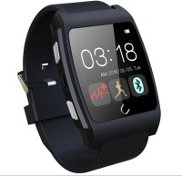U Watch Ux Heart Rate Monitoring Smartwatch (Black)
