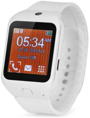 Maya Kenxinda W3 Smartwatch (White Strap)