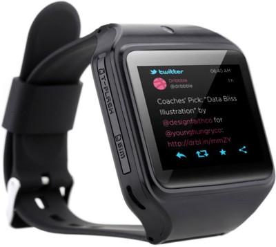 Kenxinda 2 Smartwatch (Black Strap)