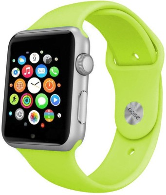 Noise Urge Silver-Green Smartwatch (Green Strap)