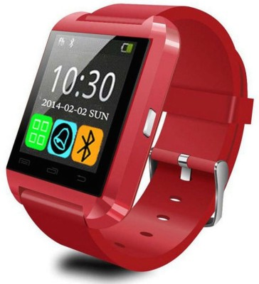 Medulla U8 for Android phone Bluetooth Red Smartwatch (Red Strap)
