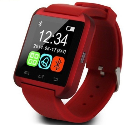 pi U WATCH RED Smartwatch (Red Strap M)