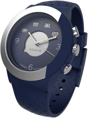 COGITO Fit Smartwatch (Blue Strap)
