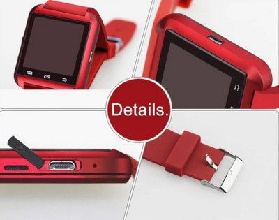 Niki SmartWatch Red Smartwatch (Red Strap)