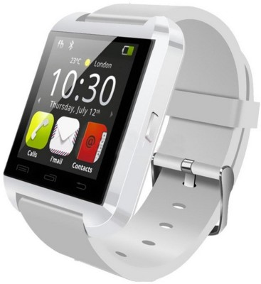 PremK New White Smartwatch (White Strap S)