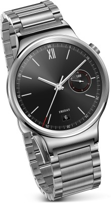 Huawei Stainless Steel with Stainless Steel Link Strap Smartwatch (Silver Strap)