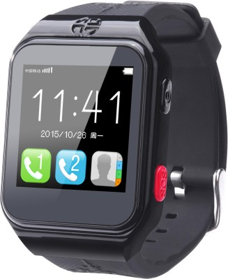 FINDU FY02S Smartwatch (Black Strap)